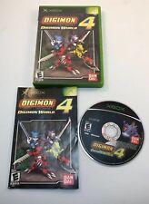 Digimon World 4 (Microsoft Xbox, 2005) Complete