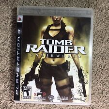 New listing Tomb Raider: Underworld (Ps3) Sony PlayStation 3, 2008) Complete Mint Tested
