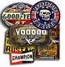 RAT ROD STICKERS X 6, SELF ADHESIVE + FREE CHAMPION STICKER! Voodoo Street.com