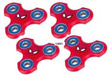 Antsy Labs Marvels Spider-Man Fidget Spinner LOT OF FOUR (4) Set!