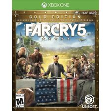 FARCRY 5 GOLD EDITION (XBOX ONE) - BRAND NEW/SEALED - FREE SHIPPING!