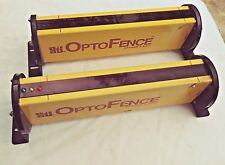 "STI OPTOFENCE 12"" Light Curtain Set, OF4100B2 Transmitter and Receiver, See Pics"