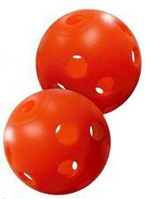 Orange Perforated Practice Golf Balls (240 Ball Bulk Box) 39770-x2