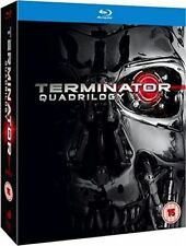 The Terminator Quadrilogy 1 2 3 4 One Two Three Four Region B Blu-ray
