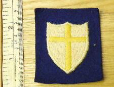 Original Military WW2 British Troops In Austria 8th Army Cloth Badge (4252)
