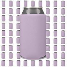 Lavender Beverage Insulators Can Coolers Lot of 5 Blank Drink Sleeves