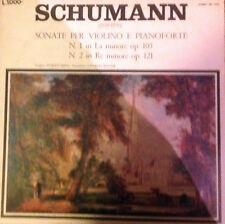 DISCO 33 GIRI - SCHUMANN - SONATE PER VIOLINO E PIANOFORTE
