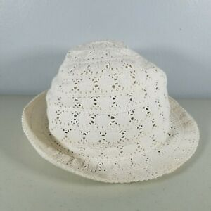 Baby Gap Girls Summer Hat Easter White One Size Fits All Cap