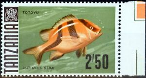 Tanzania 1972 2s50 SG154a Glazed Paper V.F MNH