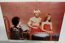 3 VINTAGE ROCKY HORROR PICTURE SHOW 1975 MOVIE LOBBY CARDS A VITO BELL ESTATE