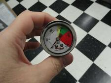 Nitrous Pressure Gauge liquid filled nitrous pressure gauge Nos New White Face