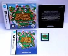 Jeu: ANIMAL CROSSING WILD WORLD pour Nintendo DS + Lite + DSI + XL + 3 DS + 2 DS