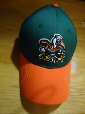 MIAMI HURRICANES U Of MIAMI NCAA SNAP BACK YOUTH BASEBALL CAP/HAT SPORTS NWOT