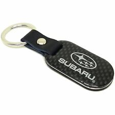 OEM Subaru Carbon Fiber Keychain Key Chain Key Holder Key Ring SOA342L138