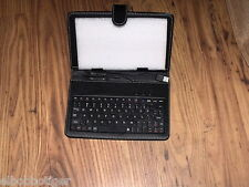 """7"""" Leather Case Cover With USB Keyboard Stylus For Android PC Epad"""