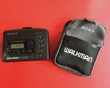 SONY WALKMAN WM-FX41 WALKMAN FM/AM CASSETTE PLAYER WMFX41 + SONY CARRY CASE