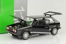 1983 Volkswagen VW Golf I 1 GTI Pirelli negro 1:18 Welly