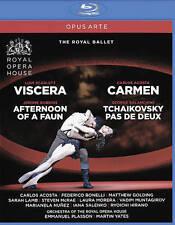 Carmen/Viscera/Afternoon of a Faun/Tchaikovsky Pas De Deux [Blu-ray], New DVDs