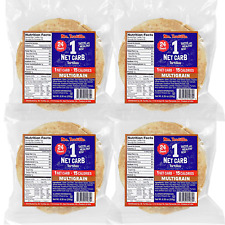 New listing Mr. Tortilla 1 Net Carb Tortillas (96 Tortillas) Keto, Vegan, Kosher, Multigrain