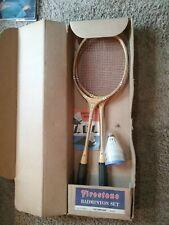 "New listing Vintage 50's 60's FIRESTONE Badminton Set ""Olympian"" partial"