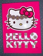 HELLO KITTY JOURNAL PINK DAISIES SUPER CUTE!!
