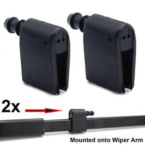 2X Windscreen Wiper Washer Jet Nozzles 2E1955986 2E1955985 For Mercedes Sprinter