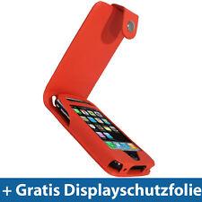 Rot PU Leder Tasche für Apple iPhone 3G 3GS Gen 16/32gb Schutz Hülle Case Etui