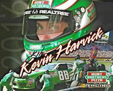 2016 Kevin Harvick Hunt Brothers Pizza NASCAR Signed Auto 8x10 Post Hero Card