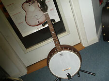 Antique Vintage Tenor Banjo 4 String 1920s Era Stromberg-Voisinet Co. Chicago