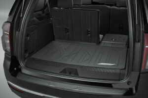 2021 Chevy Suburban Integrated Cargo Liner 84445531 Jet Black w/ Chevrolet Scpt