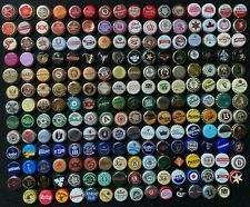 206 Different Foreign Beer Bottle Caps/Crowns -Mostly obs, some rare, most used