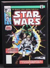 "Star Wars #1 Comic Book 2"" X 3"" Fridge Magnet.  Luke Skywalker Vader"