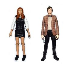 """Dr. Doctor Who 5"""" Amy Pond Police Uniform & Matt Smith Loose Action Figure Doll"""