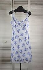 Women's Dresses - Free People Jumper - Baby Blue Florals S/12 (S/ CMP )