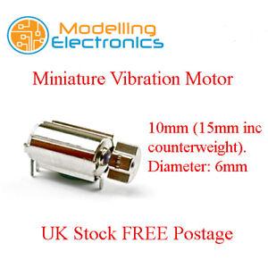 Mini Vibration PCB Motor 3V for Mobile Phones Pagers Robotics Control Sticks