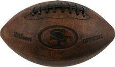 "NFL San Francisco 49ers 9"" Throwback Football"