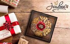 Jaybees Nuts Gift Tray - Beautiful Tagua Nut Center Engraved with Happy Birthday