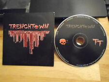 RARE OOP Trenchtown CD EP 2010 punk rock ska reggae INDEPENDENT RELEASE 2010 !