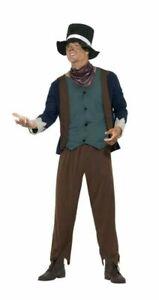 SMIFFYS POOR VICTORIAN MAN COSTUME FANCY DRESS - LARGE