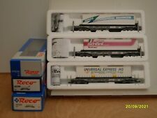 More details for roco  sbb bogie  container  wagons  3 off