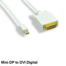 Kentek 3FT Mini DisplayPort to DVI DVID Cable 32AWG Thunderbolt for PC MAC 1080p