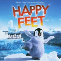 HAPPY FEET SOUNDTRACK CD NEW!