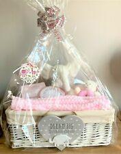 Baby Girl Rectangular Large Baby Luxury Gift Basket