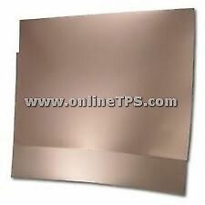 Plain Copper Clad Double Sided Glass Epoxy PCB 6x6 Inch +Marker Pen-5 Pc