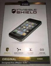 ZAGG Invisible Shield Screen Protector iPhone 4/4s - FFAPLIPHONE4GSS
