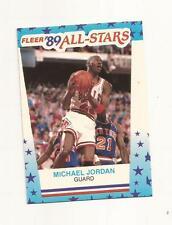 1989-90 Fleer # 3 Michael Jordan Sticker Card (B46) Chicago Bulls