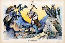 Prospector Gold Panning Yukon Klondike, Silent Partners - Dice Cards Opium Dive