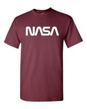 NASA Logo Words Space Camp Cosmos Men's Tee Shirt 1868