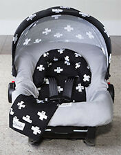 Carseat Canopy Caboodle Infant Car Seat Canopy Cover 5 piece Set Covers Ethan