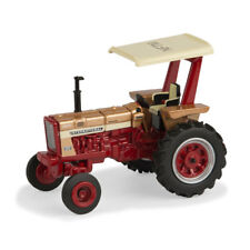 1:64 ERTL CASE IH INTERNATIONAL 656 GOLD DEMONSTRATOR w/CANOPY 3pt NFTM 2017 NIB